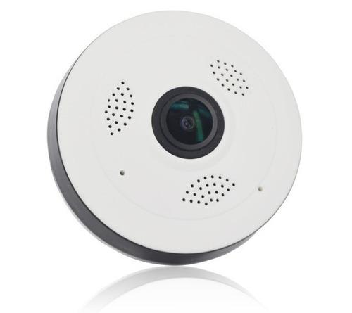 câmera panorâmica 360° full view v380 infravermelho