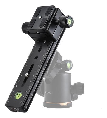 câmera panorâmica de liga de alumínio andoer bpl-180 longo r