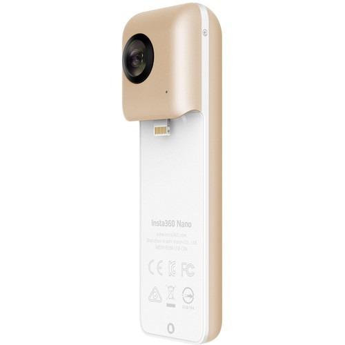 câmera panorâmica insta 360° vr nano gold iphone 7 plus 6 6s