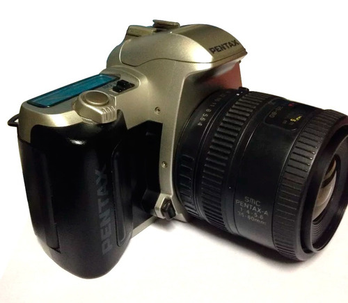 câmera pentax analógica