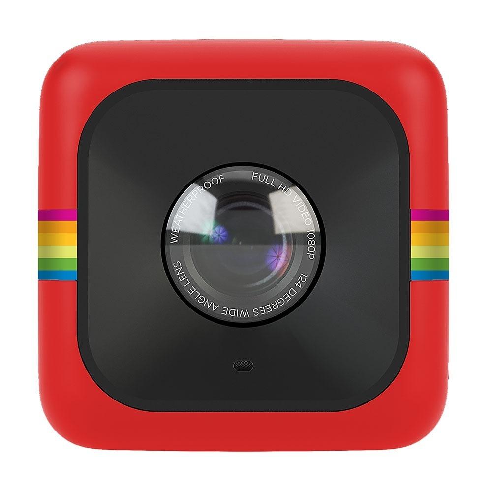 2eb0b7bc9593a Câmera Polaroid Cube Full Hd Vermelha