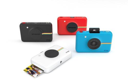 câmera polaroid snap instant print digital roxa leia anuncio
