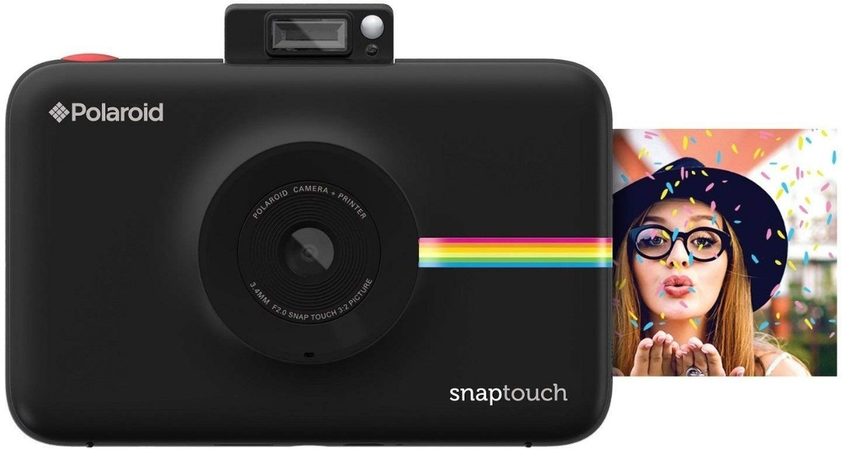 39c35eaa1f7f8 Câmera Polaroid Snap Touch + Sd 32gb + 60 Fotos - R  1.199