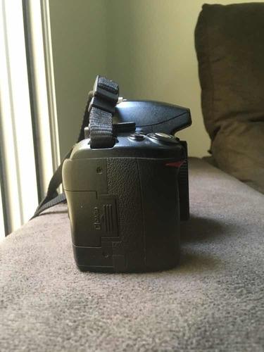 câmera profissional nikon d3000 - completa