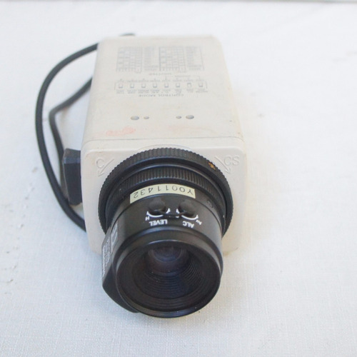 câmera profissional samsung digital color scc-131n - c/lente