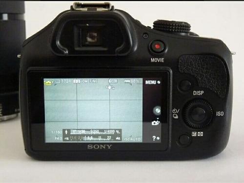 câmera profissional sony alpha 3000 - 3313 clicks
