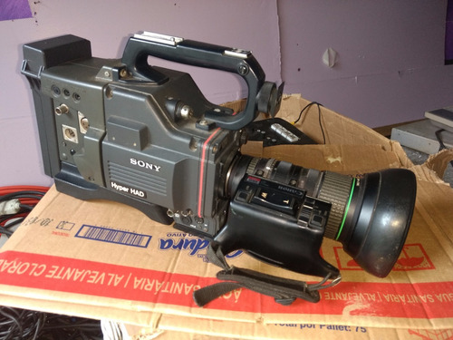 câmera profissional sony dxc-327a hyper had usada