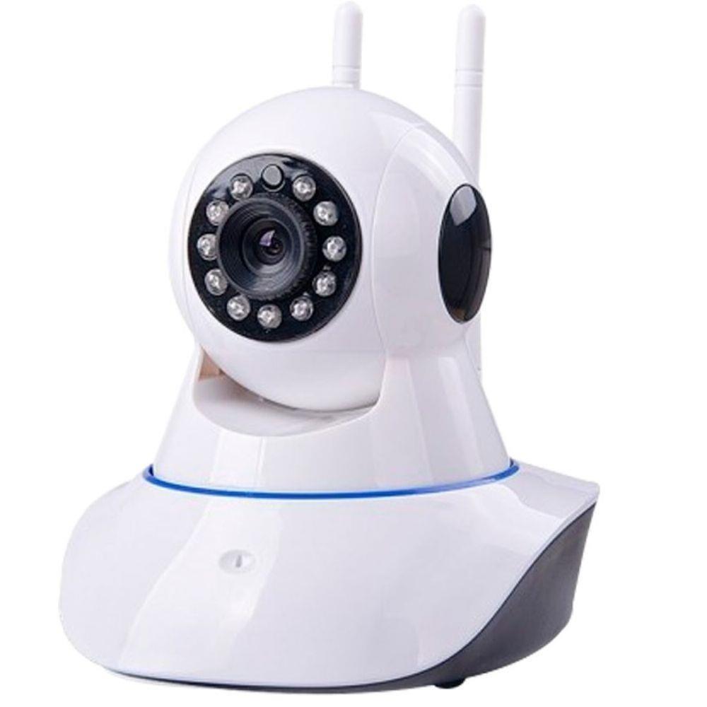 f18c0d605 Câmera Robô Ip Pantilt 1.0mp Ir-cut Onvif-hd-wifi C audio - R  179 ...