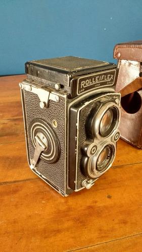 câmera rolleiflex tessar 1:3.5 compur-rapid