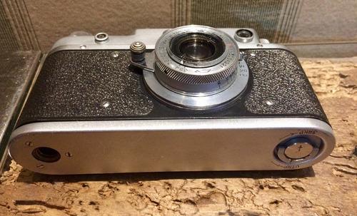 câmera russa antiga lente 50mm f/3.5 impecável funcionando