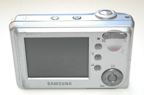 câmera samsung digimax d53 5.0 megapixels usada