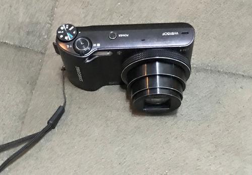 câmera samsung digital fotográfica + cartão de memória 8gb