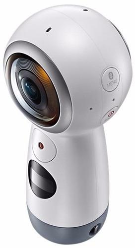 câmera samsung gear 360° sm-r210 2017 4k bluetooth nfc usb