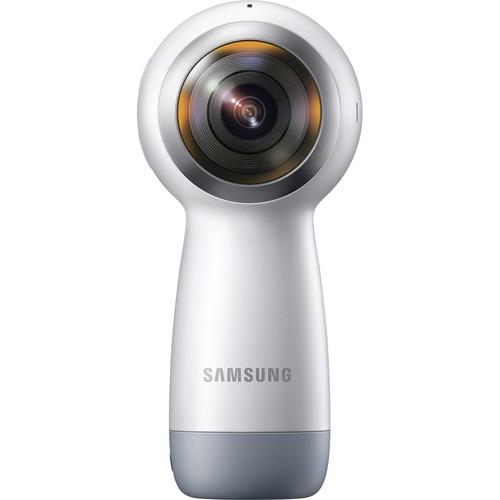 câmera samsung gear 360º sm-r210 2017 4k caixa e nota fiscal