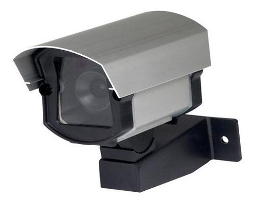 câmera segurança falsa com led infravermelho