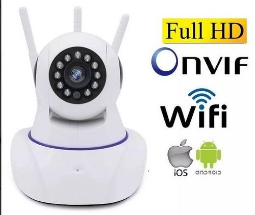 câmera segurança ip hd  wifi yoosee yyp2p 3 antenas original