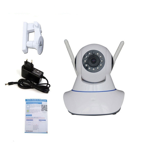 câmera segurança ip visão noturna 1,3m wireless wifi sem fio