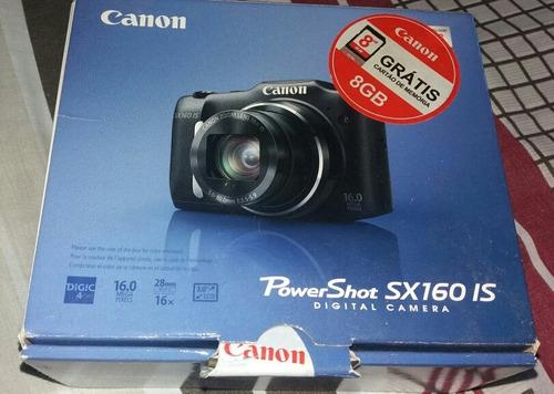 câmera semi-profissional usada (cannon)