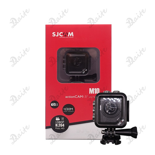 câmera sjcam m10 original 1080p full hd 12mp 1.5inch