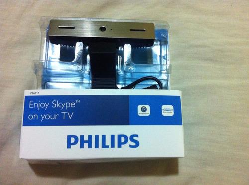 câmera skype para smart tv philips