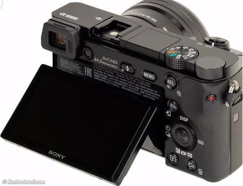 câmera sony a6000 16-50mm envio imediato
