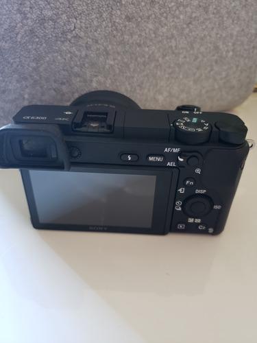 câmera sony a6300 c/ lente do kit
