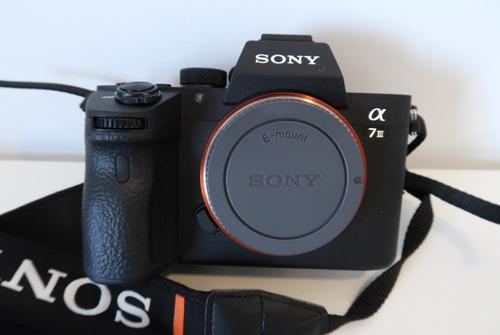 câmera sony a7 iii a73 a7iii corpo 4k c/ recibo