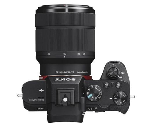 câmera sony a7ii a7 ii fullframe mirrorless + lente 28-70mm
