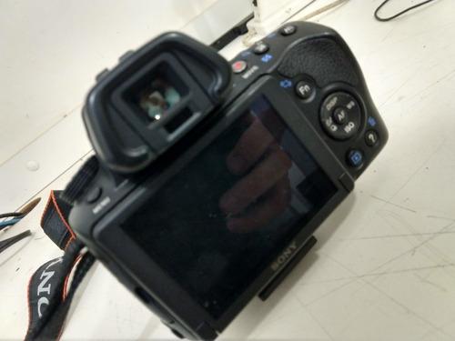 câmera sony alpha a37 dslr slt-a37