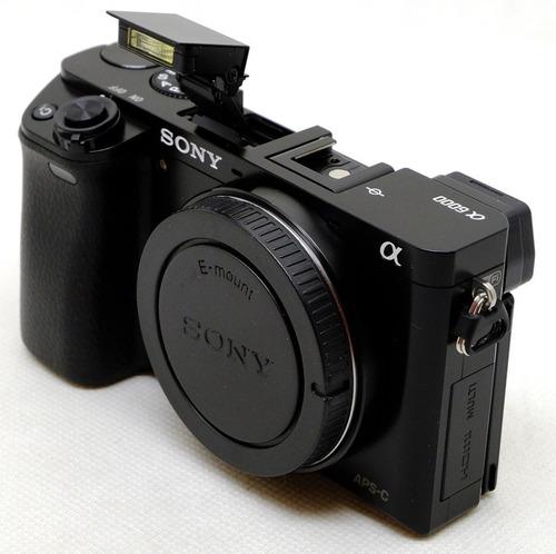 câmera sony alpha a6000 - nova - corpo + invoice bestbuy