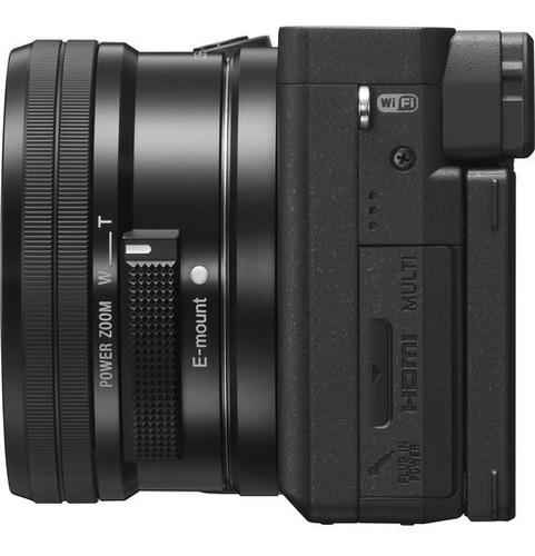 câmera sony alpha a6400 com lente 16-50mm - loja platinum