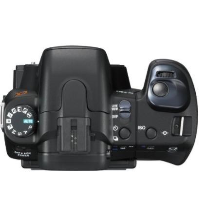 câmera sony alpha dslra350 14.2mp digital-  semi nova