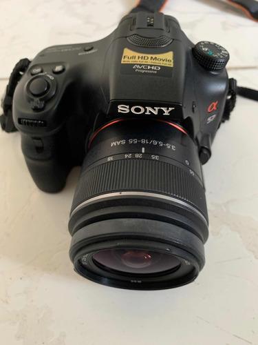 câmera sony alpha slt - a57