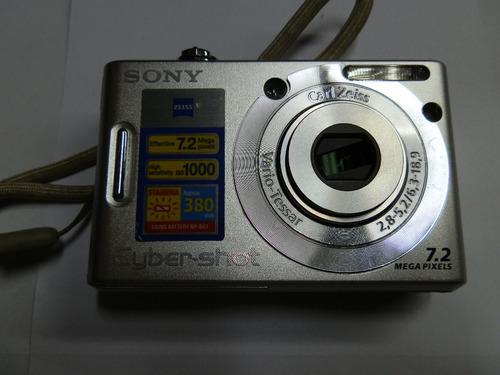 câmera sony cyber-shot 7.2 retirada peças