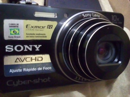 câmera sony cyber shot de 18.2 megapixels