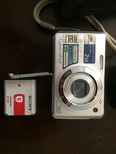câmera sony cybershot 12.1mp + bolsa + carregador de bateria