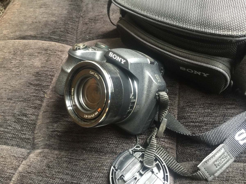 câmera sony cybershot dsc-hx200v novíssima com bolsa