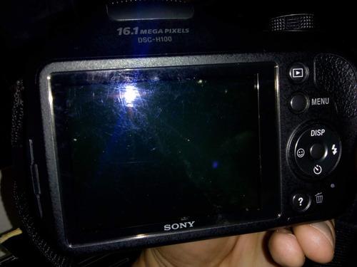 câmera sony dsc-h100 semi-profissional