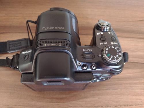 câmera sony dsc hx1 muito nova c/acessórios!!!