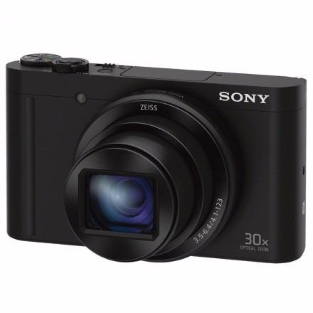 câmera sony dsc-wx500 18mp/30x/fhd wifi preto 100% original