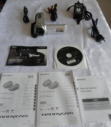 câmera sony handycam dcr-sx20 + bolsa sony