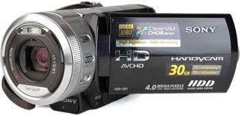 câmera sony hdr-sr1 - excelente para youtubers!