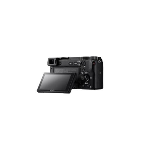 câmera sony ilce-6300l e-mount + lente 16-50mm