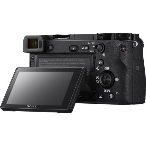 câmera sony mirrorless a6500 corpo 4k