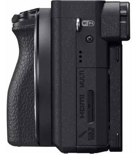 câmera sony mirrorless a6500 corpo 4k wifi c/  nota fiscal