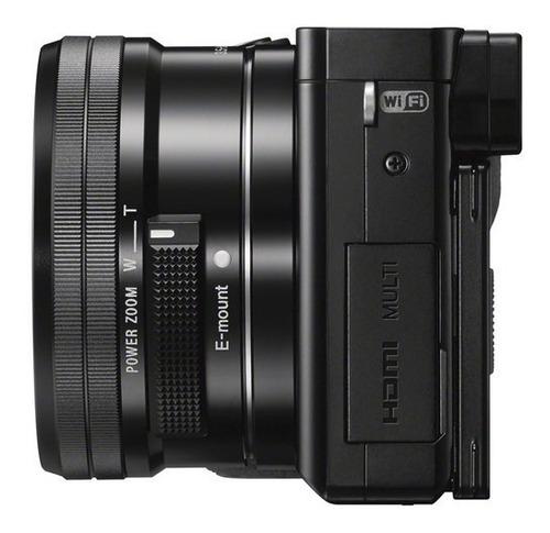 câmera sony mirrorless alpha a6000 + 16-50mm garantia novo