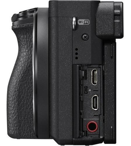 câmera sony mirrorless alpha a6500 (corpo) garantia novo