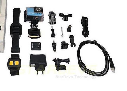 câmera sports hd dv 1.5  full hd water resistant wi-fi