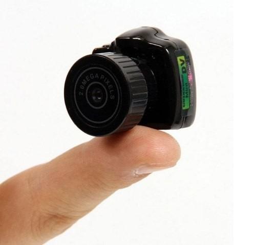 câmera super pequena