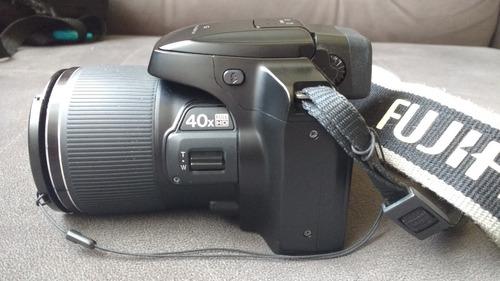 câmera superzoom 40x fujifilm finepix s8200